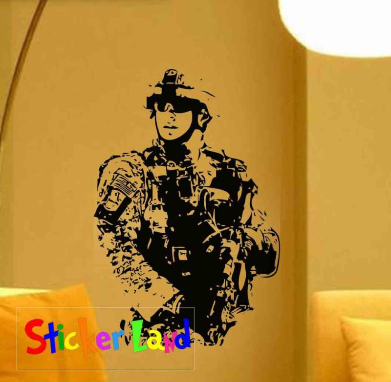 Military Wall Decals Removable