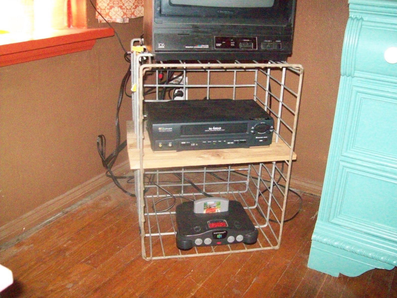 Milk Crate Tv Stand