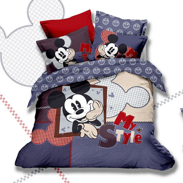 Minnie And Mickey Comforter Set