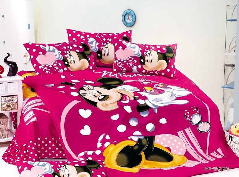 Minnie Mouse Comforter Set Full Size