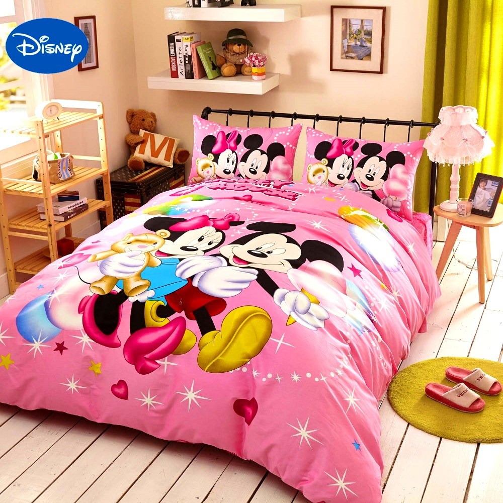 Minnie Mouse Comforter Set Full