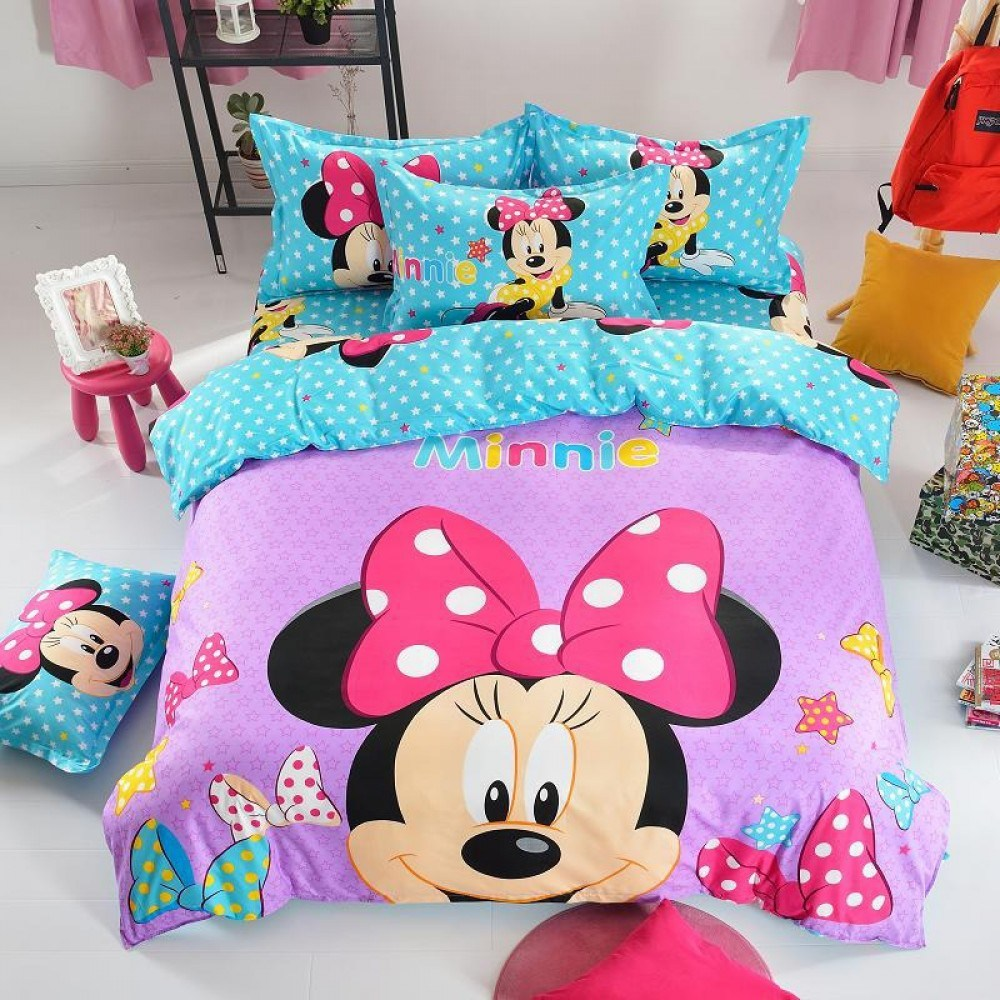 Minnie Mouse Comforter Set Queen