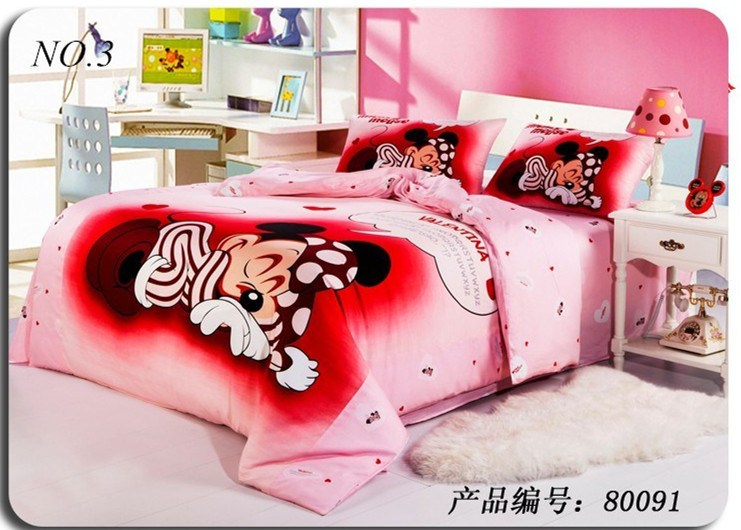 Minnie Mouse Full Comforter Set