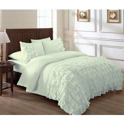 Mint Green And Brown Comforter Sets