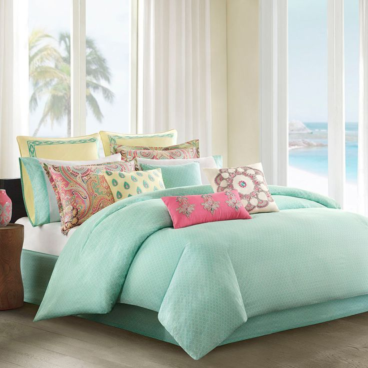 Mint Green Comforter Set