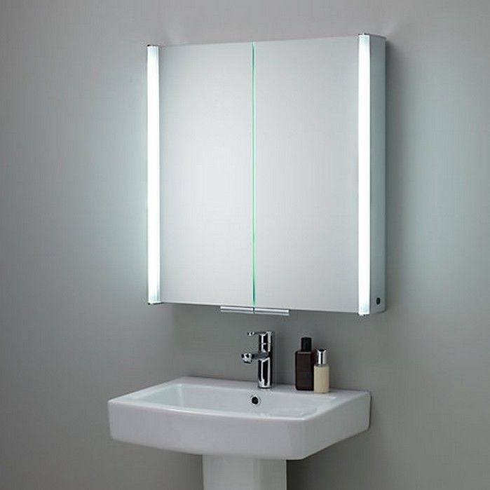 Mirror Bathroom Cabinet With Light