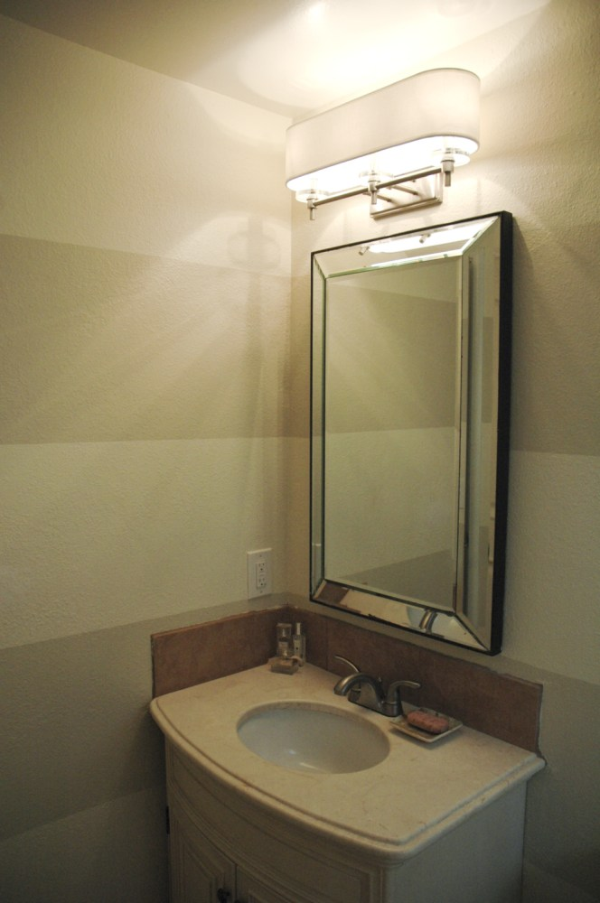 Mirror In The Bathroom