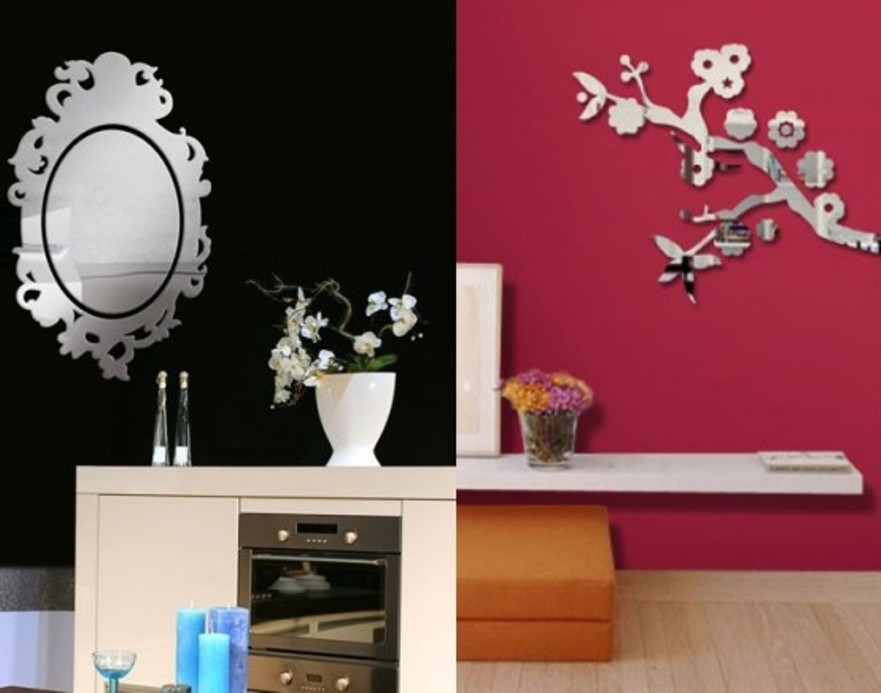 Mirror Wall Decals Amazon