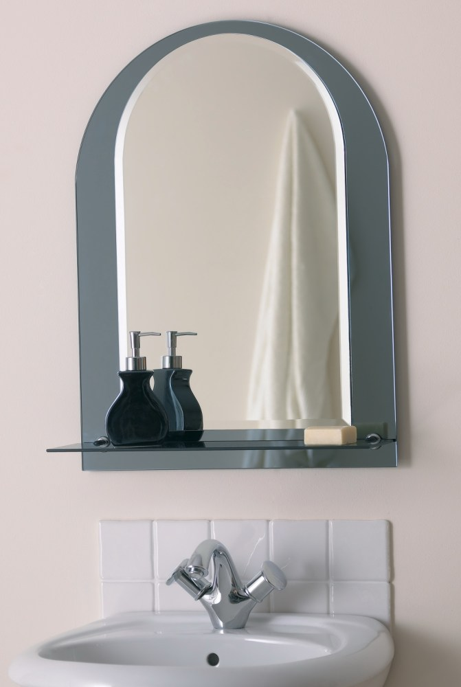 Mirror With Shelf For Bathroom