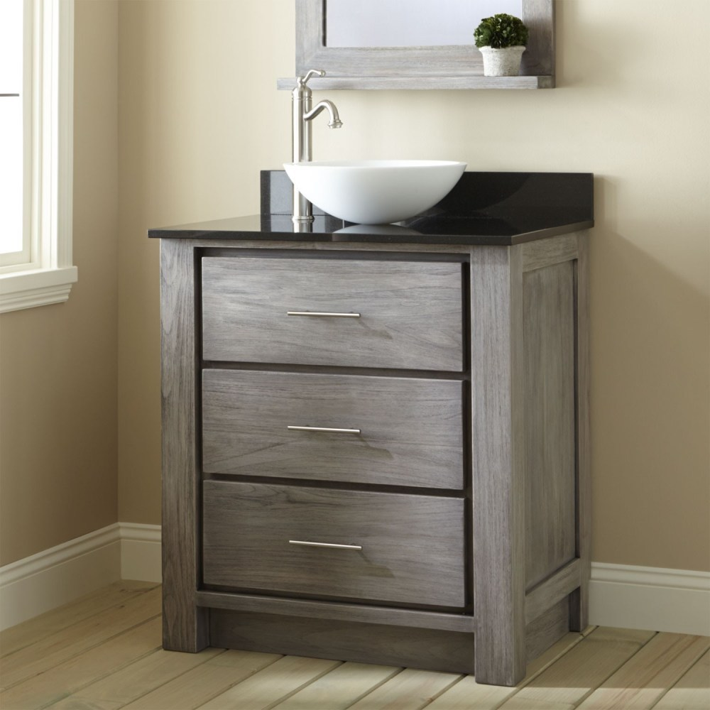 Mirrored Bathroom Vanities Cabinets