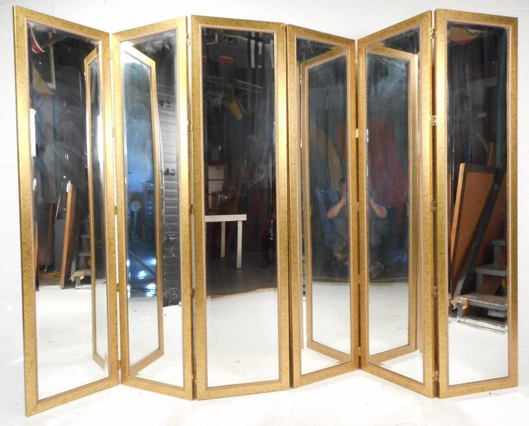 Mirrored Room Dividers For Sale