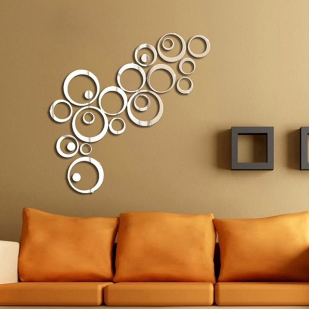 Mirrored Wall Decals Stickers