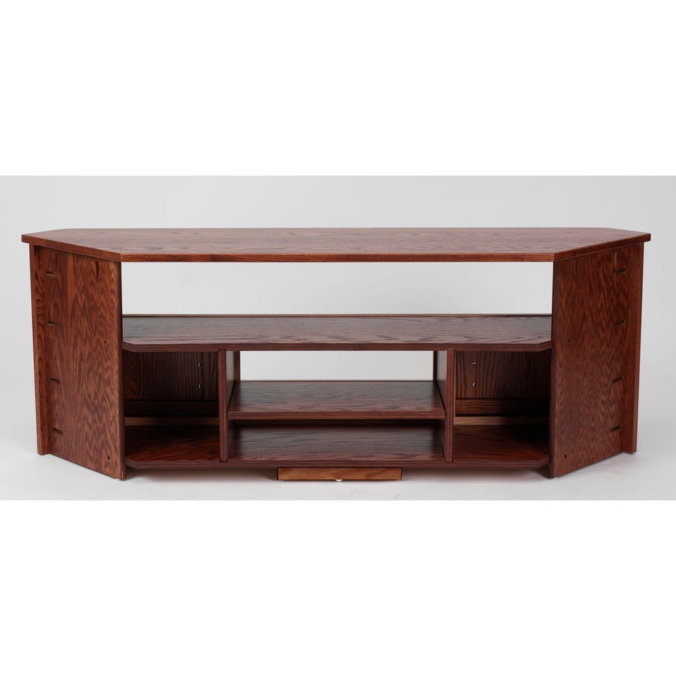 Mission Style Corner Tv Stand