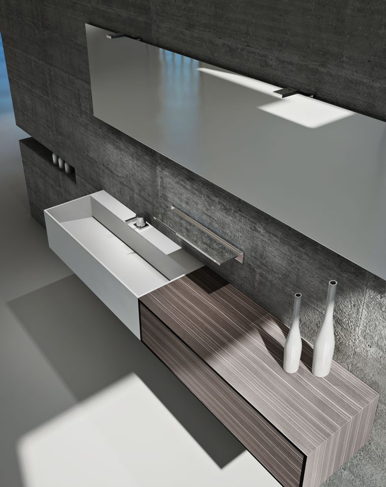 Modern Bathroom Cabinets Vanities