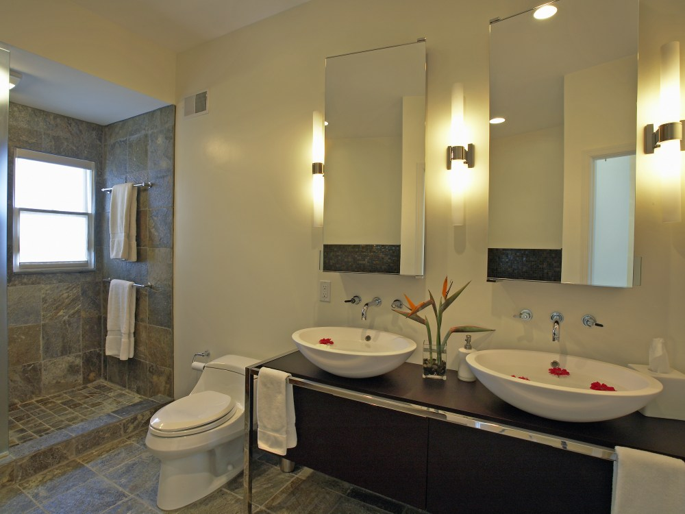 Modern Bathroom Mirrors And Lighting