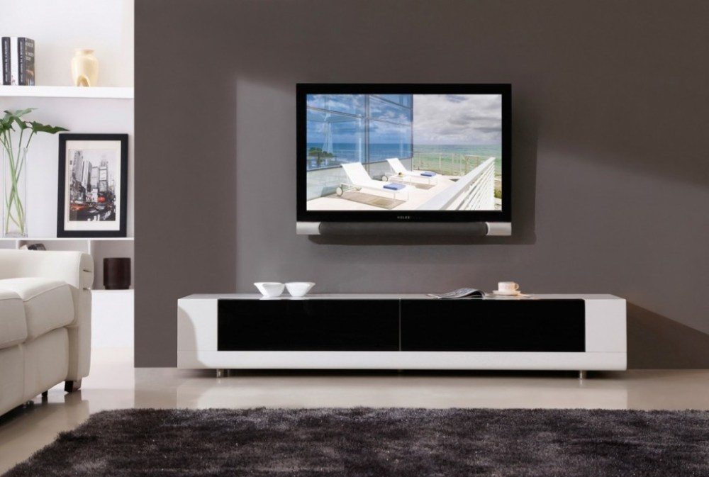 Modern Black And White Tv Stands