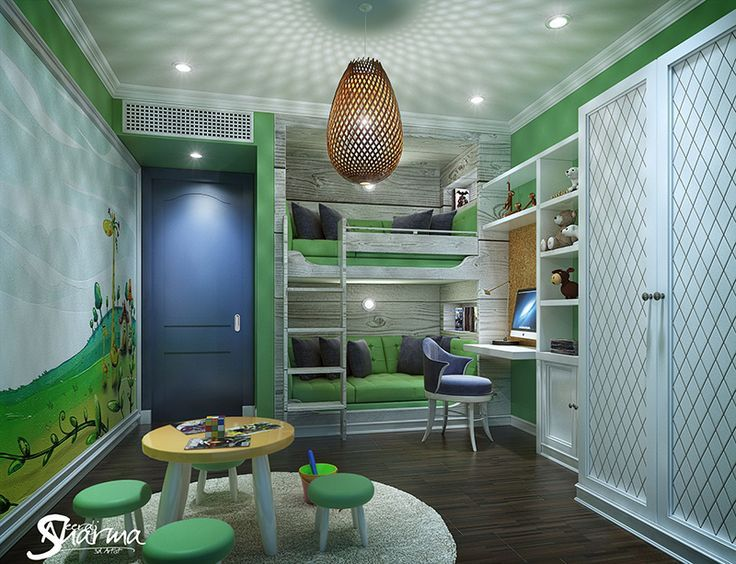Modern Kids Bedroom Designs For Girls