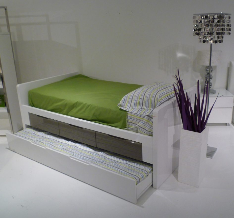 Modern Kids Trundle Bed
