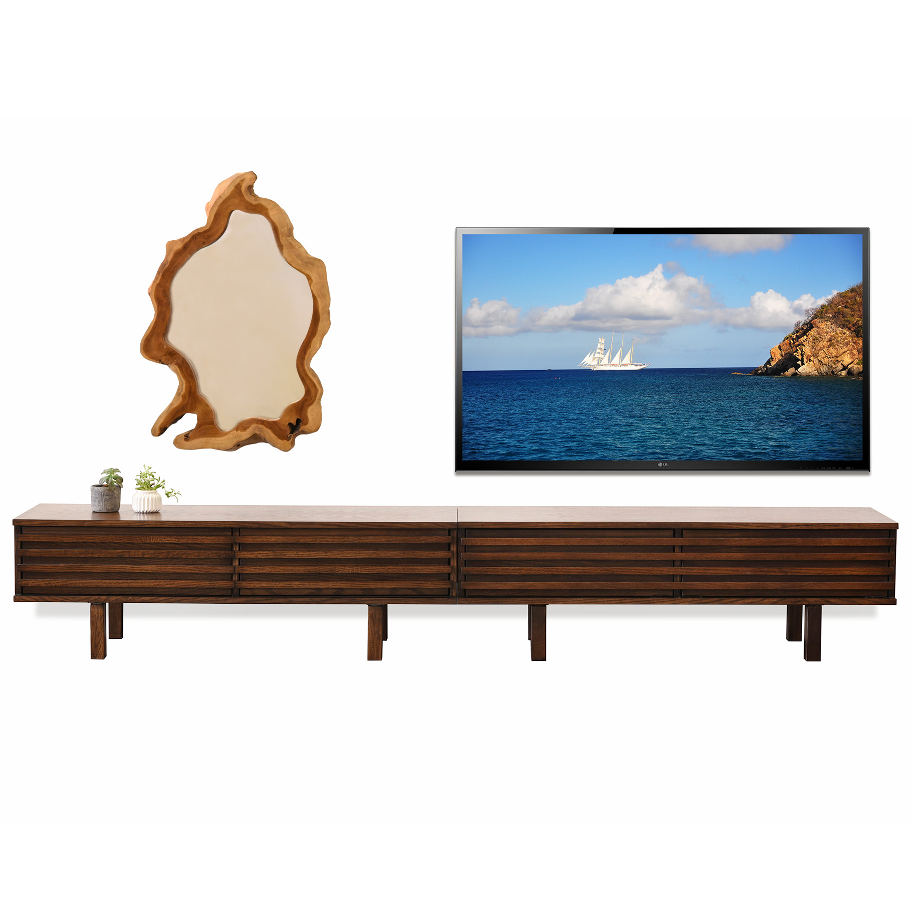 Modern Low Profile Tv Stand