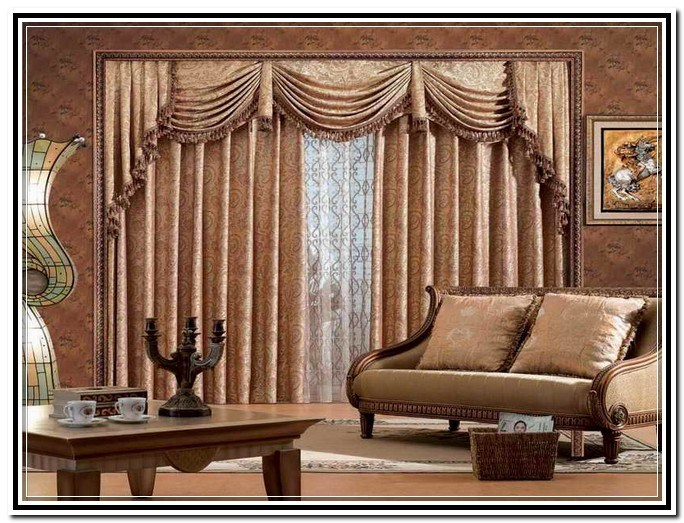 Modern Valances Living Room