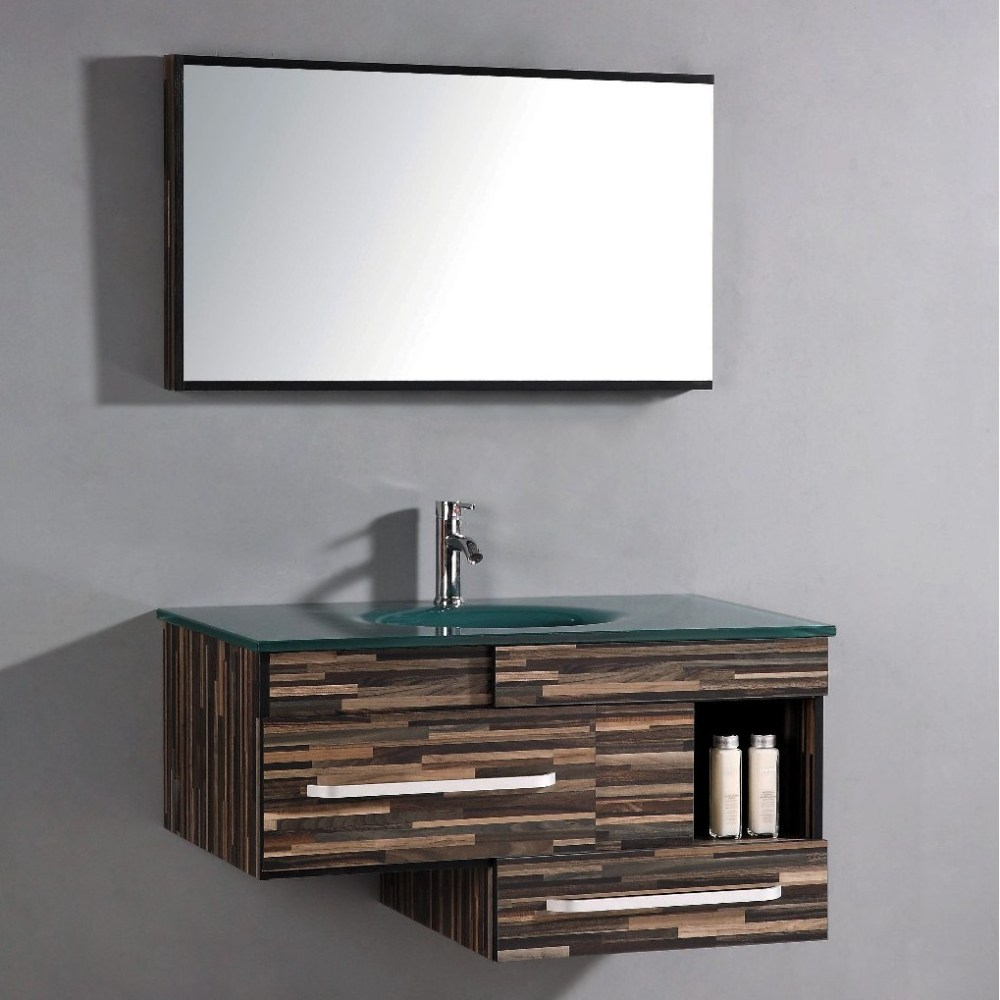 Modern Vanity Cabinets For Bathrooms
