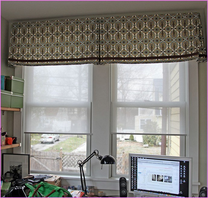 Modern Window Valance Treatments