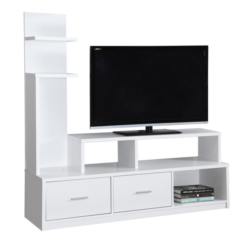 Monarch Specialties Tv Stand White