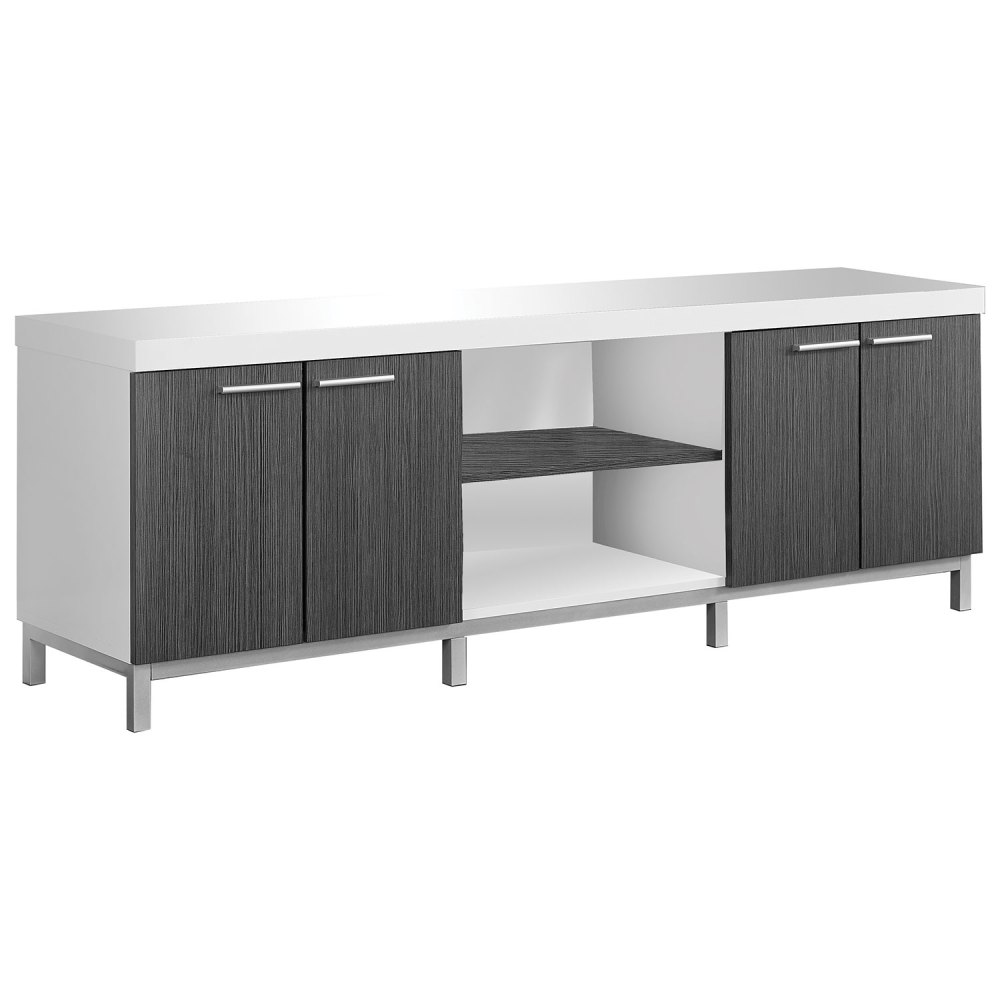 Monarch Tv Stand White
