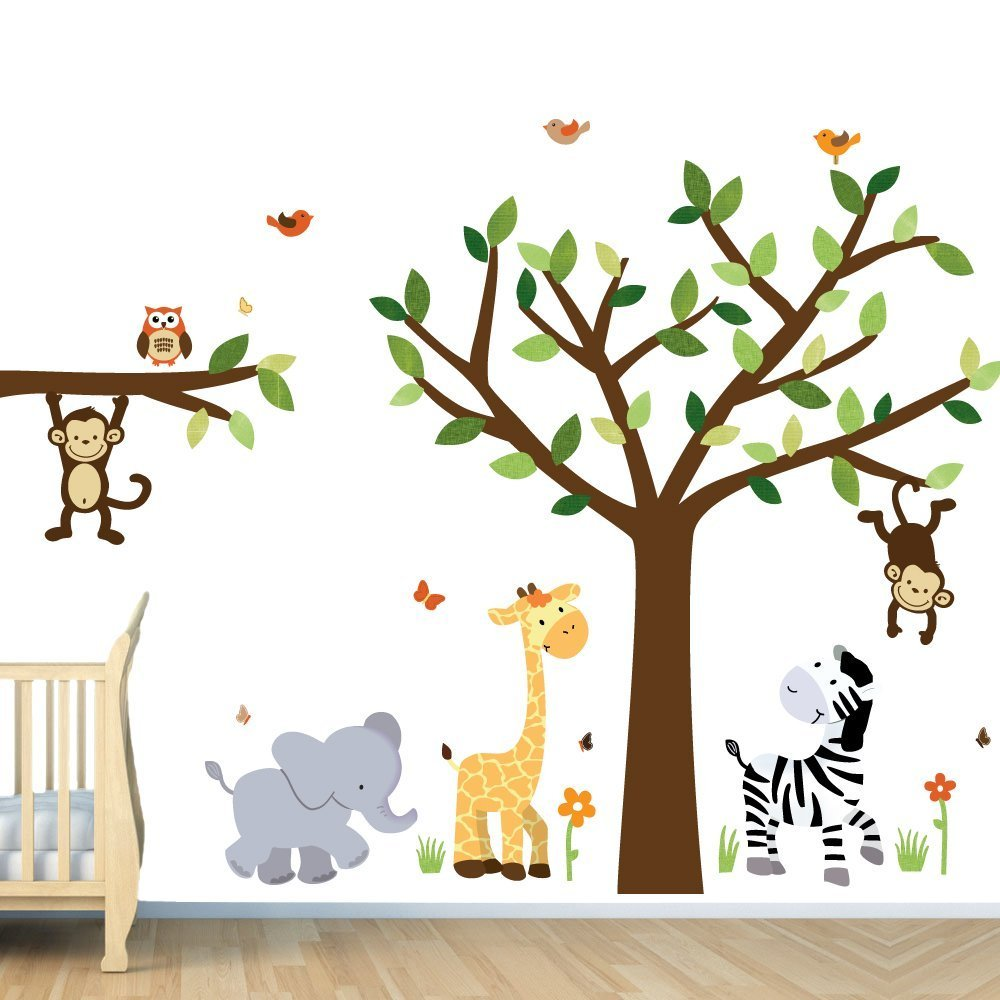 Monkey Wall Decals For Nursery