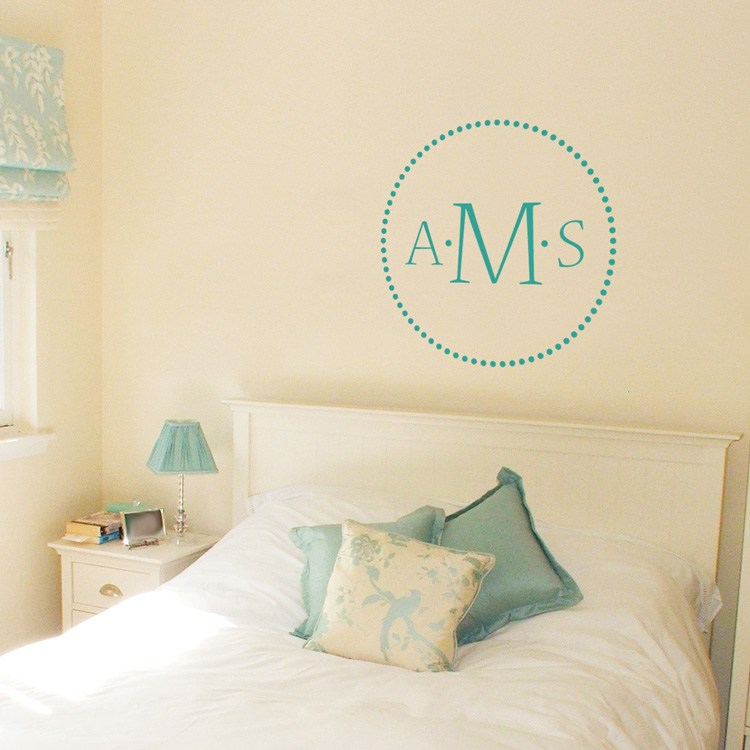 Monogram Wall Decals Wood