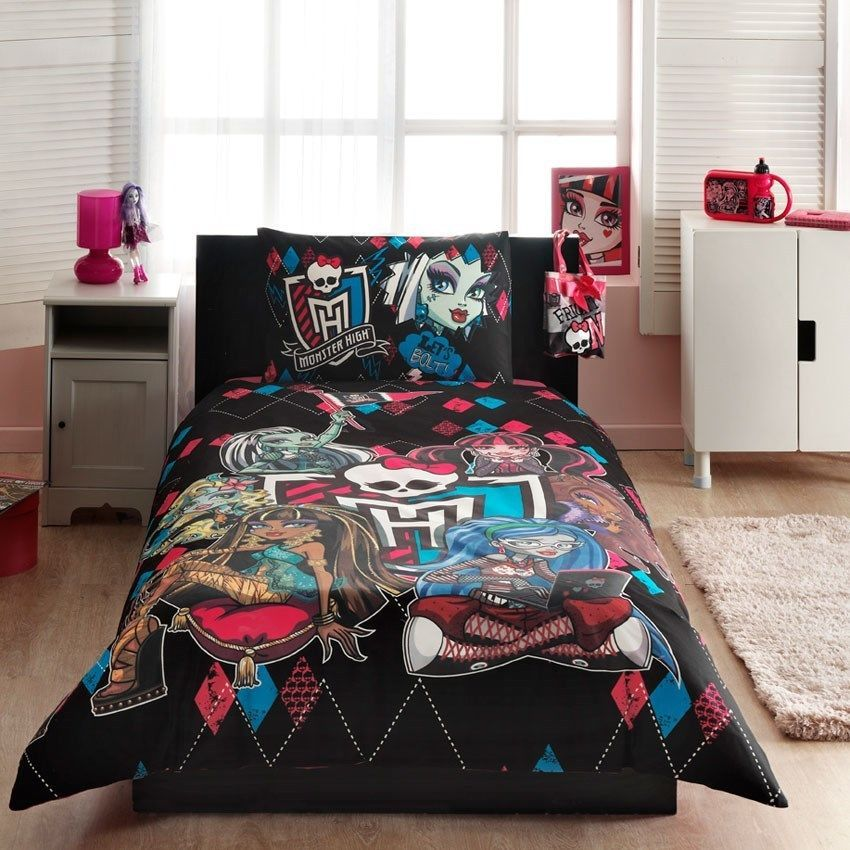 Monster High Comforter Set Twin