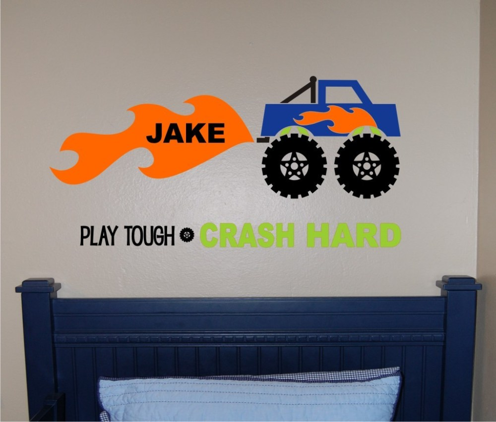 Monster Truck Wall Decals Canada
