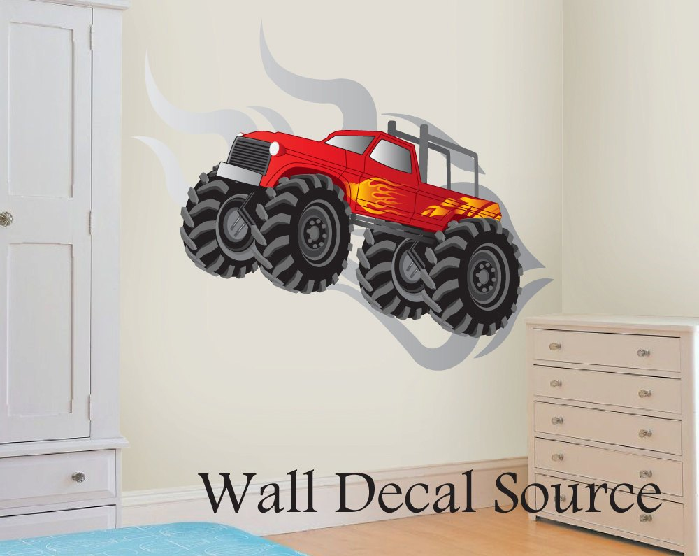 Monster Truck Wall Decals