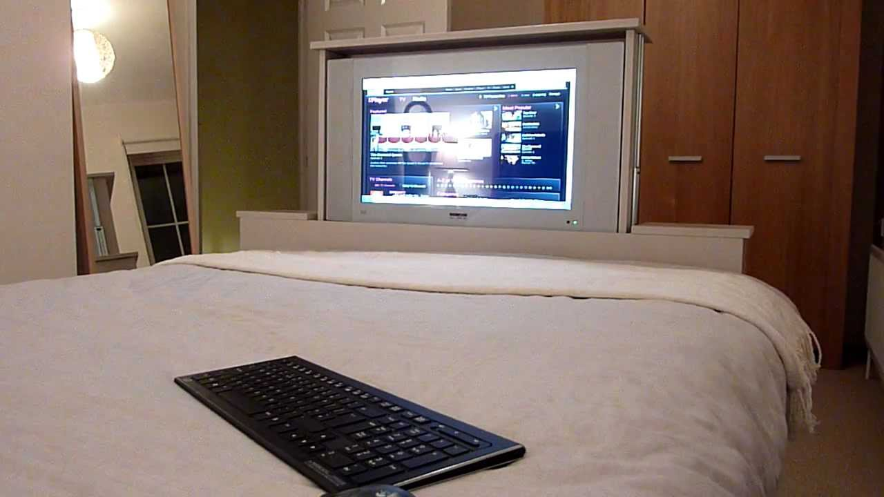 Motorized Tv Stand End Of Bed