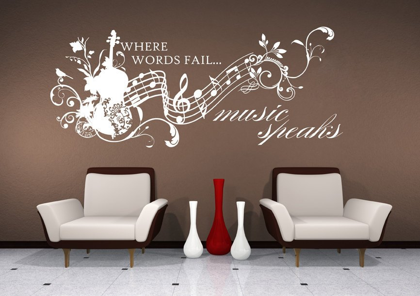 Music Vinyl Wall Decals