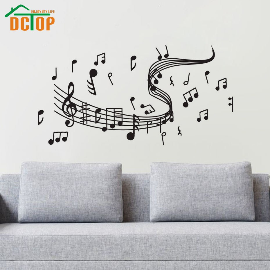 Musical Notes Wall Decals