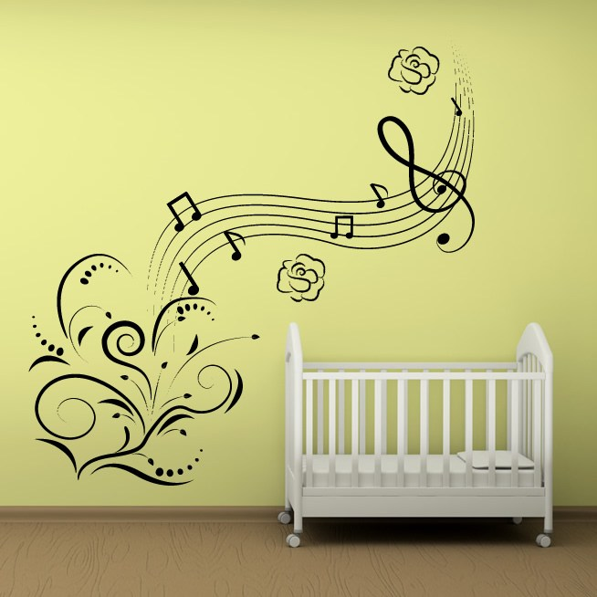 Musical Wall Decals