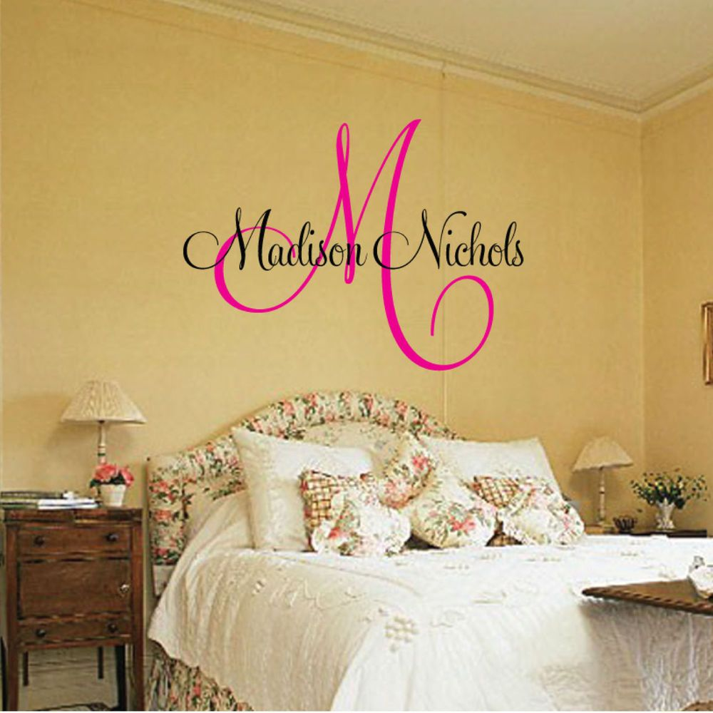 Name Wall Decals Canada
