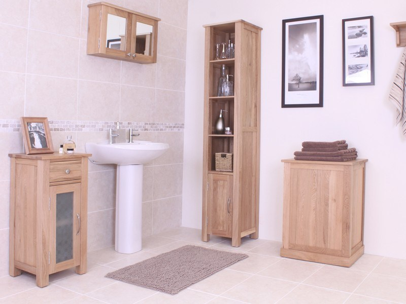 Narrow Floor Standing Bathroom Cabinets