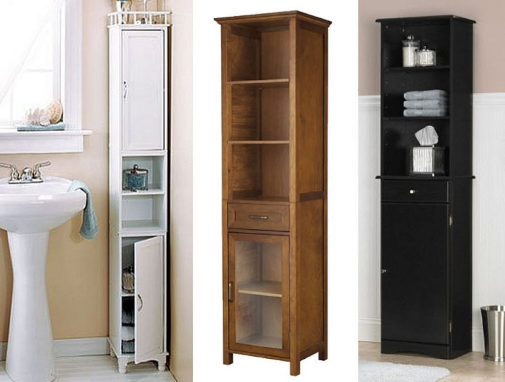 Narrow Storage Cabinet For Bathroom