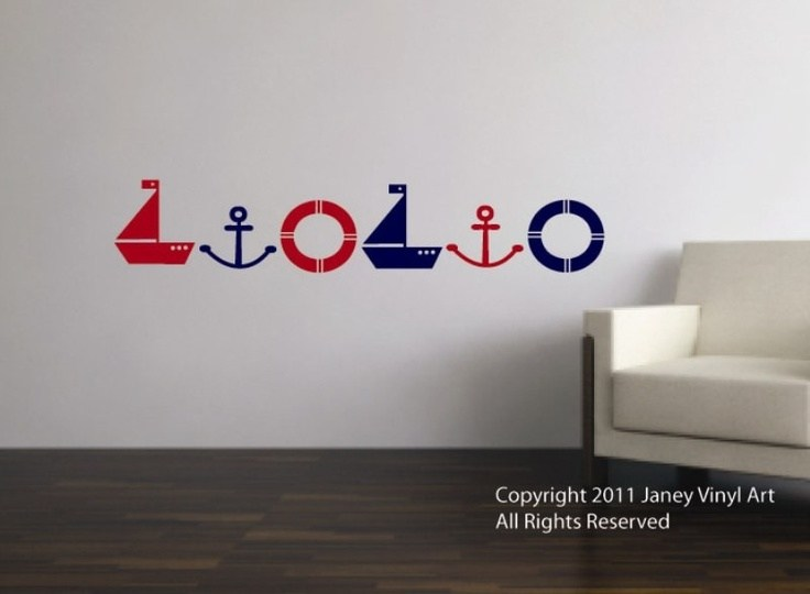 Nautical Vinyl Wall Decals