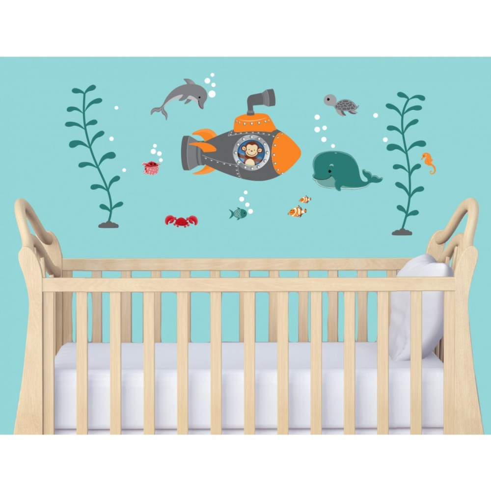 Nautical Wall Decals For Nursery