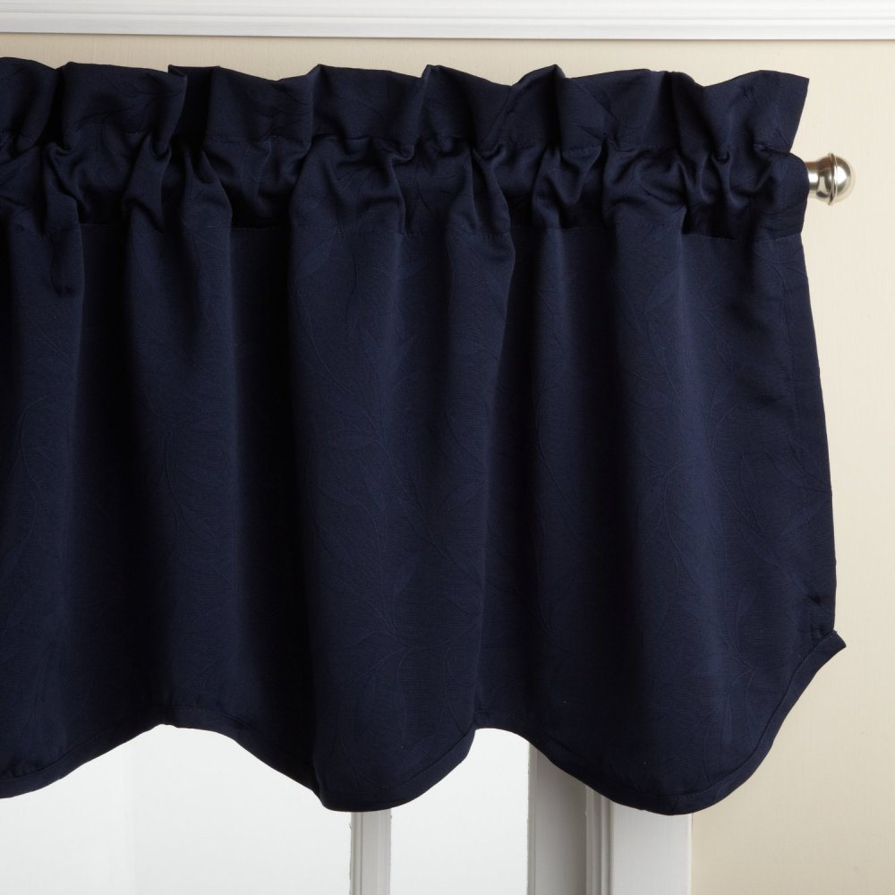 Navy Blue Valance Sheet