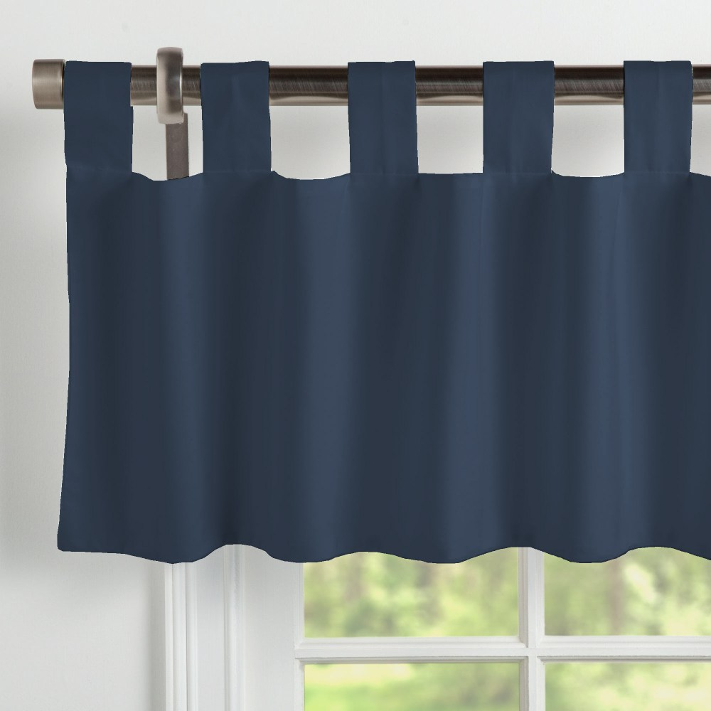Navy Blue Valances