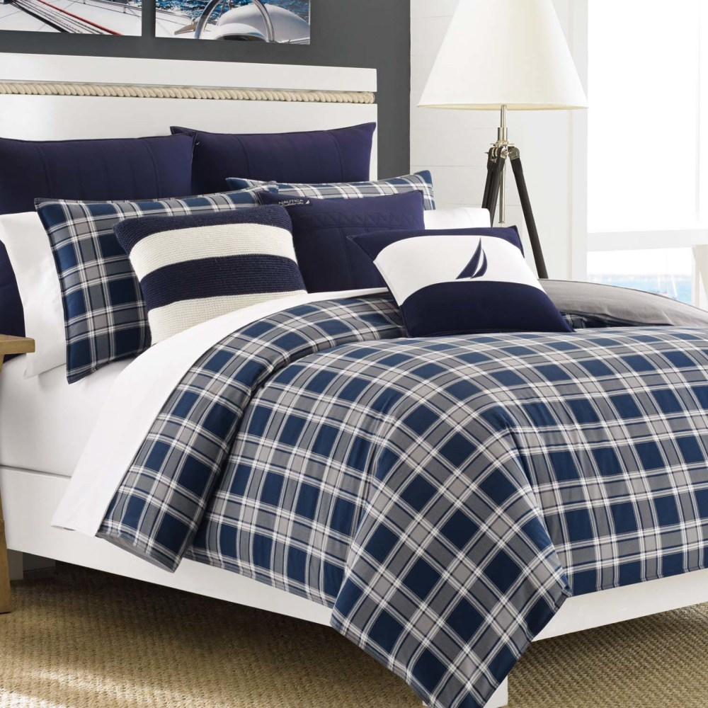 Navy Comforter Set Queen