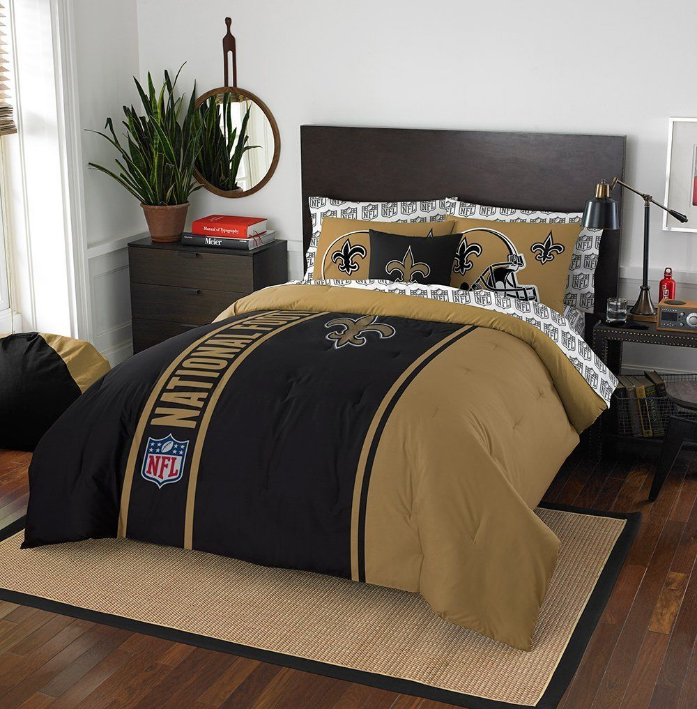New Orleans Saints Comforter Set