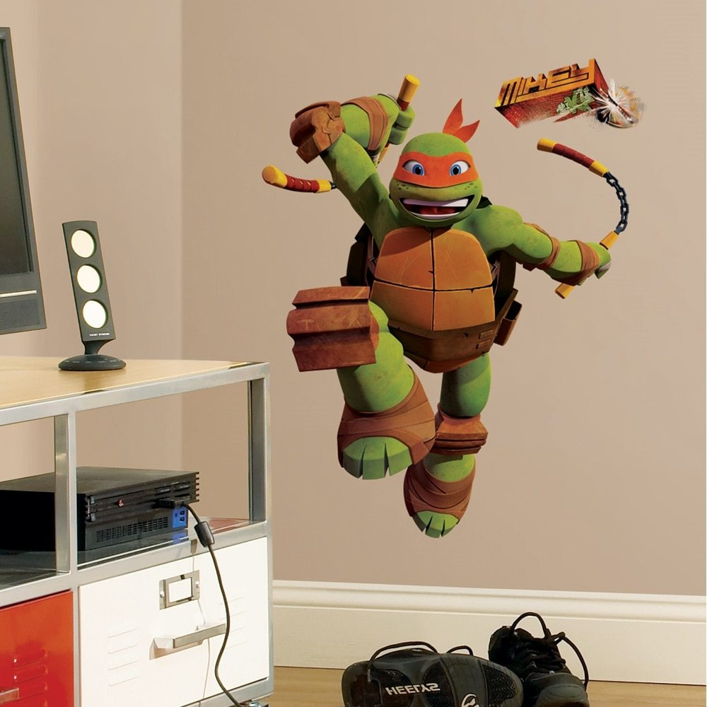 Ninja Turtle Wall Decals Walmart