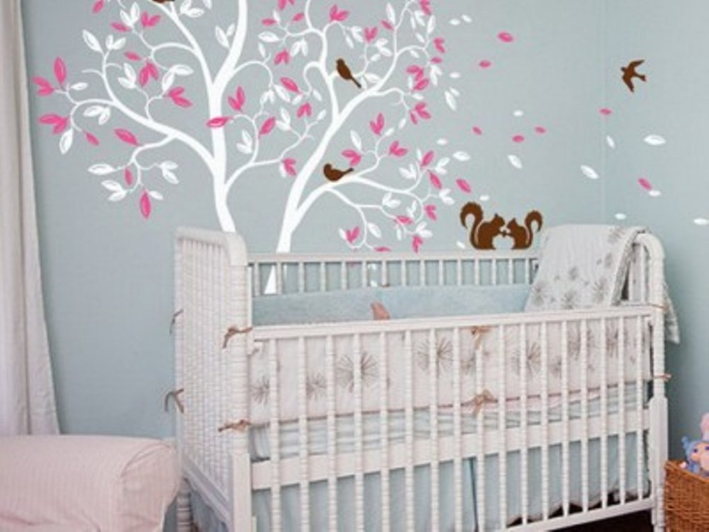 Nursery Wall Decals For Girls