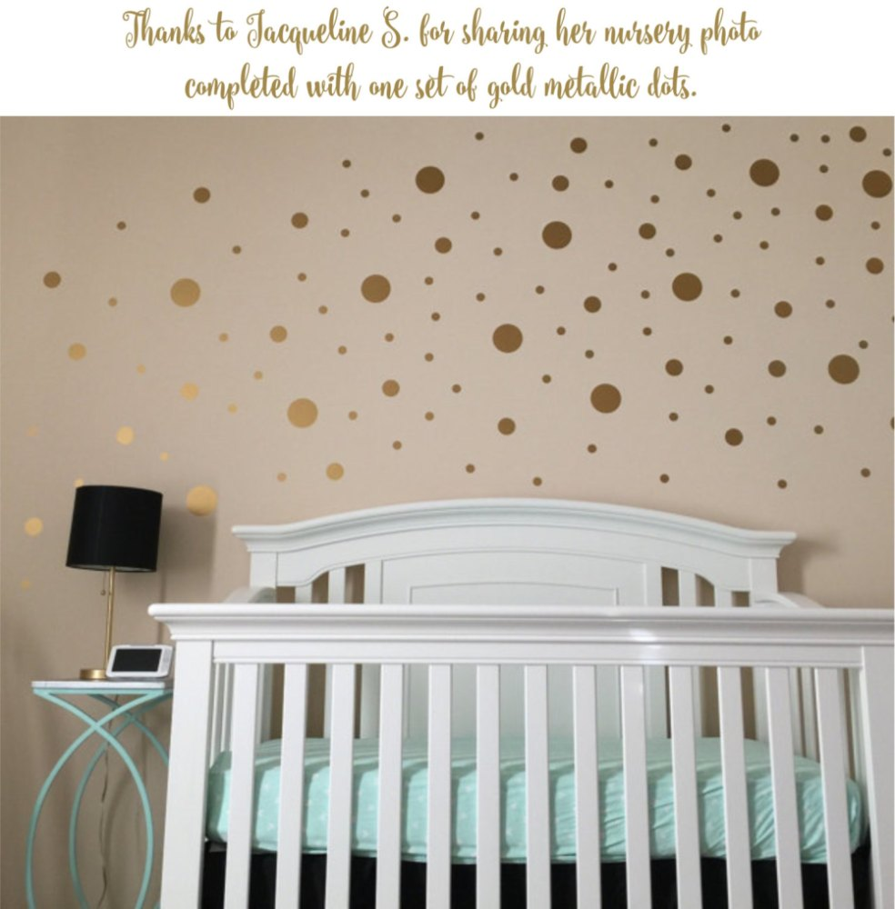 Nursery Wall Decals Polka Dots