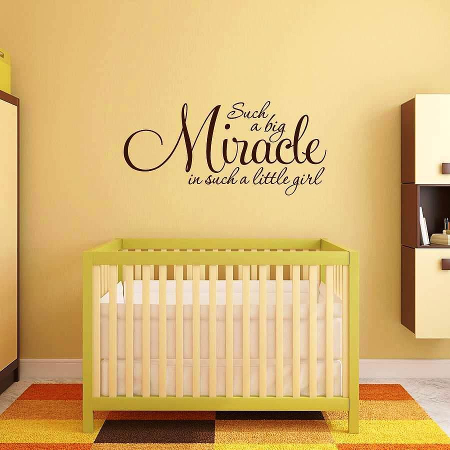 Nursery Wall Decals Sayings